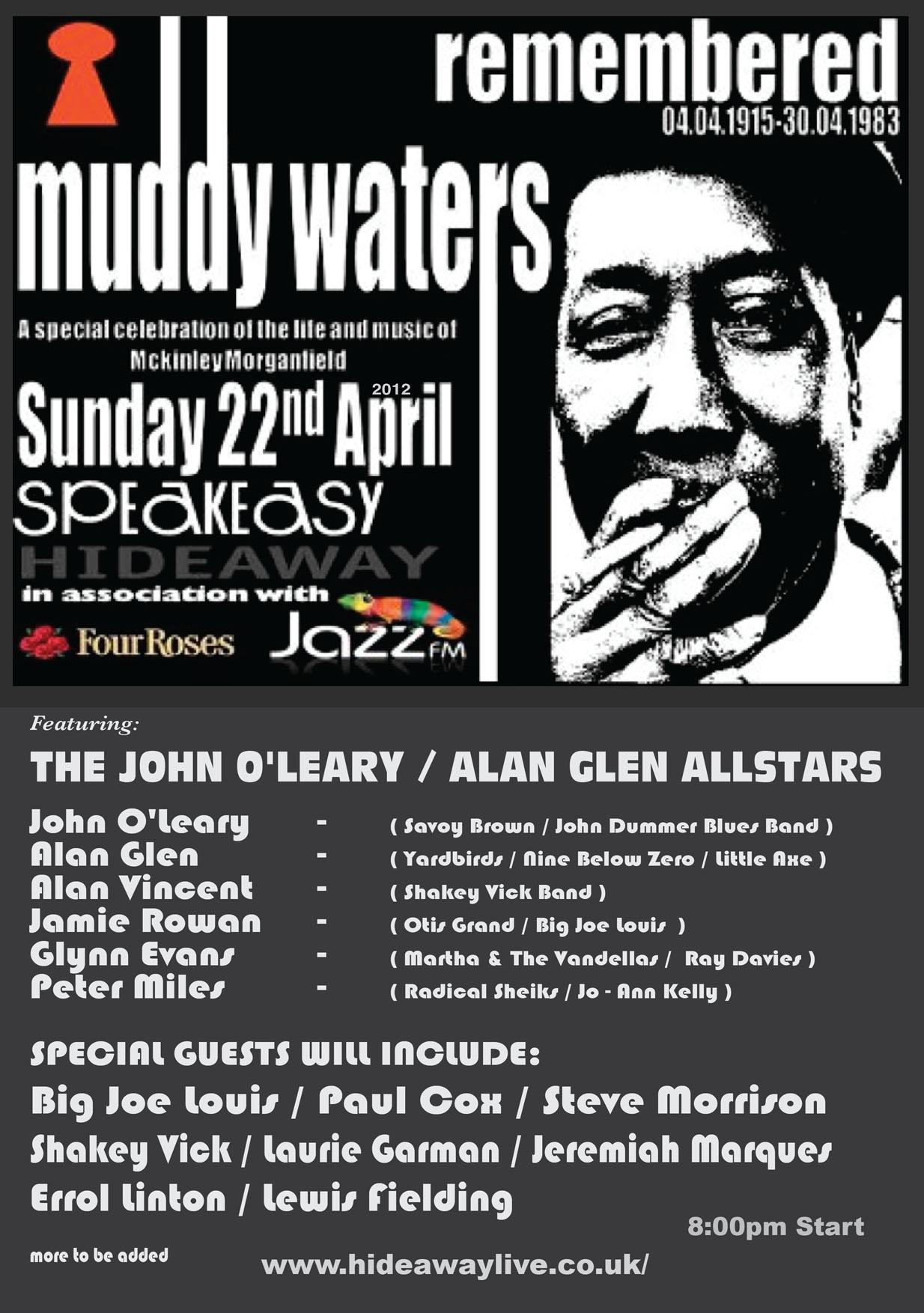 Muddy Waters Muddy water poster